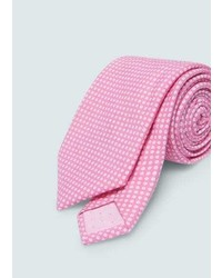 Polka dot silk tie medium 5023997