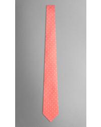 Burberry Polka Dot Silk Tie