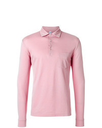 Pink Polo Neck Sweater