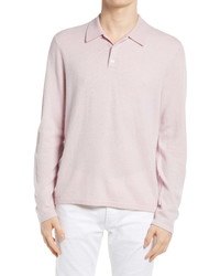 Vince Birdseye Long Sleeve Polo Shirt