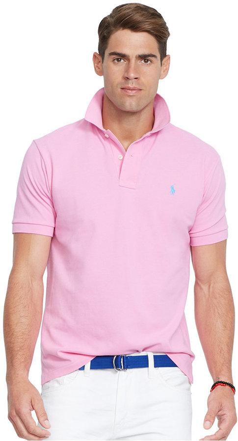 3c439987 Polo Ralph Lauren Classic Fit Mesh Polo Shirt, $85 | Macy's ...