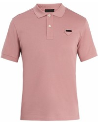 Prada Cotton Piqu Polo Shirt