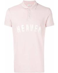 Saint Laurent Heaven Print Polo Shirt