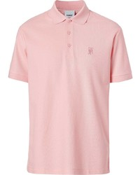 Burberry Monogram Motif Cotton Piqu Polo Shirt