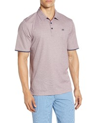 TravisMathew Point Taken Pique Polo