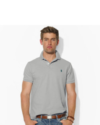 ... Polo Ralph Lauren Custom Fit Mesh Polo Shirt