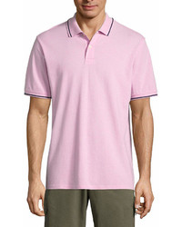 St. John's Bay Short Sleeve Pique Polo Shirt