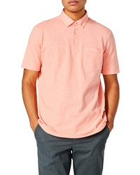 Good Man Brand Slub Jersey Cotton Polo Shirt