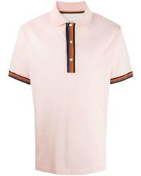 Paul Smith Stripe Detail Polo T Shirt