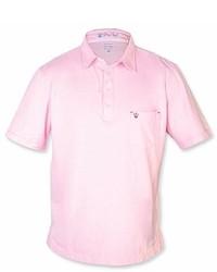 Strong Boalt Light Pink Short Sleeve Polo Shirt