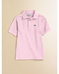 Lacoste Toddlers Little Boys Classic Pique Polo