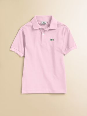 6ae35fb53 ... Lacoste Toddlers Little Boys Classic Pique Polo ...