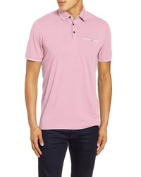 Ted Baker London Tortila Slim Fit Tipped Pocket Polo