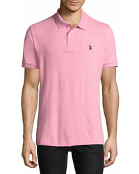 U.S. Polo Assn. Uspa Short Sleeve Solid Interlock Polo