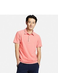 Uniqlo Washed Pique Polo Shirt