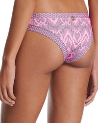 OndadeMar Ziz Swim Bottom Pink Pattern