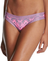 OndadeMar Ziz Swim Bottom Pink Pattern