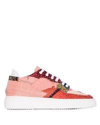By Walid 19th Century Patchwork Sneakers