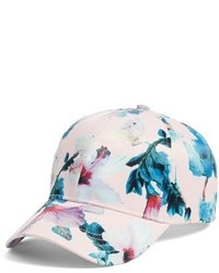 Collection XIIX Tropical Print Baseball Cap Pink