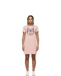 Kenzo Pink Tiger T Shirt Dress
