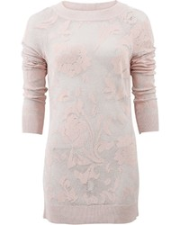 Rose print pullover medium 1158484