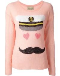 Wildfox white label sailor print sweater medium 1358339
