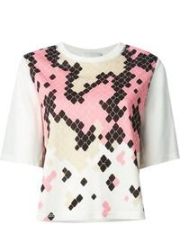 3.1 Phillip Lim Geometric Print T Shirt
