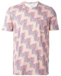Maison Margiela Zig Zag Print T Shirt