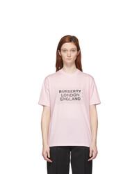 Burberry Pink Logo Ariana T Shirt