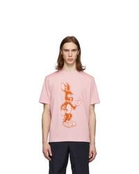 Paul Smith Pink Rabbit T Shirt