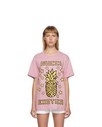 Gucci Purple Exotica Pineapple T Shirt