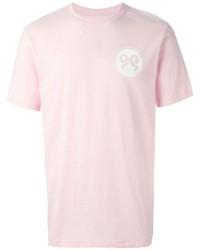 Soulland Ribbon Print T Shirt