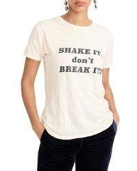 J.Crew Shake It Dont Break It Tee
