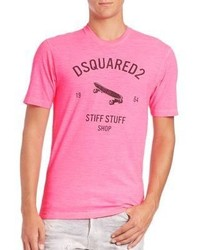 DSQUARED2 Skateboard Graphic Tee