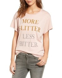 Wildfox Couture Wildfox More Glitter Manchester Tee