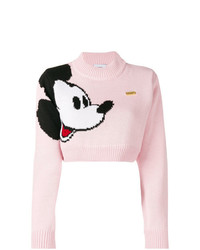 Gcds Mickey Mouse Knit Sweater