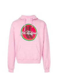 Pink Print Hoodie