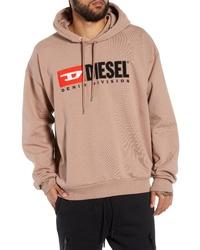Diesel Division Embroidered Hoodie