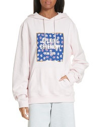 Opening Ceremony Floral Box Logo Hoodie