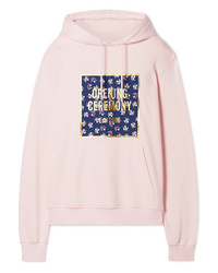Opening Ceremony Printed Cotton Jersey Hoodie