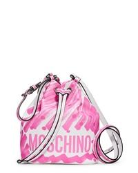 Moschino Scribble Dot Bucket Bag