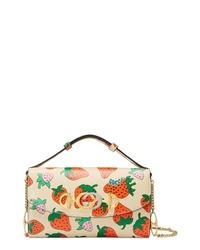 Gucci Mini Zumi Print Leather Shoulder Bag