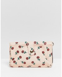 Oh My Gosh Accessories Rose Printed Across Body Bag
