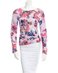 Mary Katrantzou Flroal Blouse