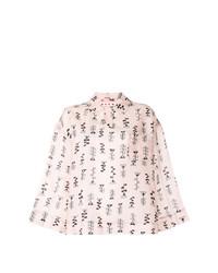 Marni Printed Wide Sleeve Blouse