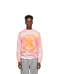 032c Pink Cosmic Workshop Long Sleeve T Shirt