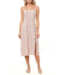 O'Neill Amalfi Stripe Woven Midi Dress40