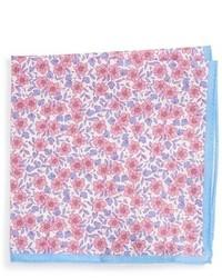 Ted Baker London Floral Print Linen Pocket Square