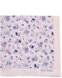 Floral print pocket square pinkblue medium 193230