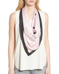 kate spade new york Just Married Square Silk Scarf
